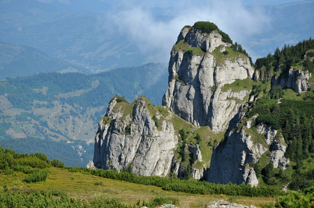 Ceahlau massif, Eastern Carpathians, Moldova, Romania  photo