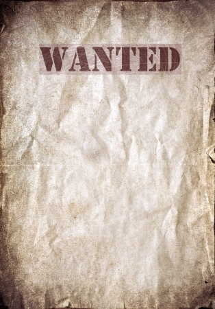 cowboy background: Antique poster - Wanted dead or alive