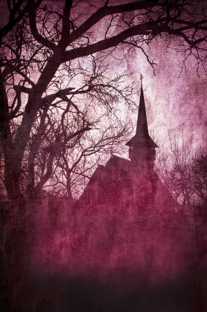 Horror castle  Foto de archivo