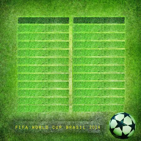 Grunge green background Brazil 2014