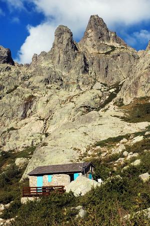 Restonica valley, part of Grand Randonee 20 trek in Corsica, France