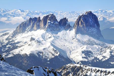 sella: Marmolada ski resort in Italy