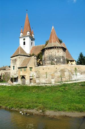 cristian: Lutheran saxon church of Cristian in Transylvania, Romania