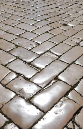 polished: Polished cobblestones