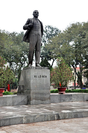 Statue of Vladimir Lenin in Saigon