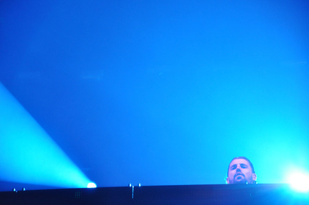 dub: CLUJ NAPOCA, ROMANIA  JULY 30, 2015: Dimitri Vegas and Like Mike performs a live concert at the Untold Festival in the European Youth Capital city of Cluj Napoca Editorial