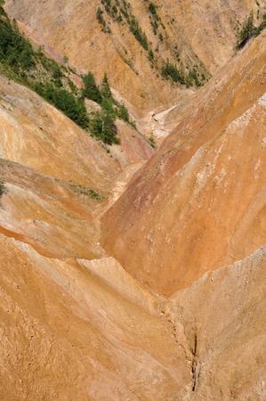 badland: Ravine, open pit