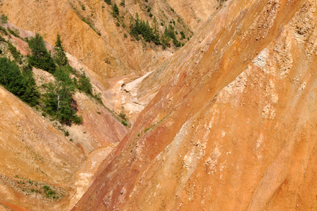 open pit: Ravine, open pit