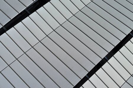 Modern Architecture Pattern modern architecture pattern of a stadium stock photo, picture and