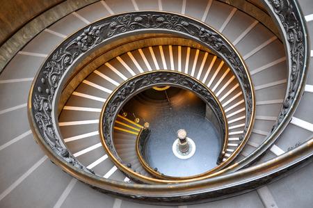vatican: Vatican stairs in the Vatican museum