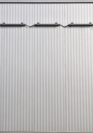 building wall: Sheet metal, corrugated wall building