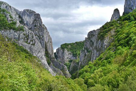 turda: Cheile Turzii gorge, natural reserve, Romania