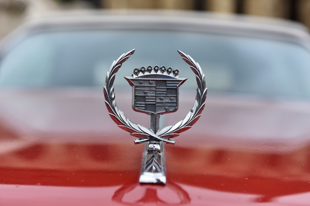 CLUJ-NAPOCA, ROMANIA - OCTOBER 15, 2016: Cadillac Eldorado and other vintage cars exhibited during the Retro Mobile Autumn Parade in the city of Cluj Napoca. Event organized by Retro Mobil Club Romania Editorial
