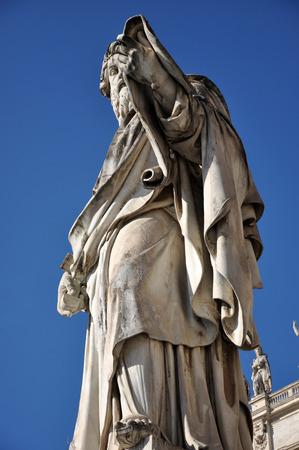 Statue of Saint Paul the Apostle. Vatican
