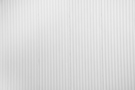 channeled: White texture. Sheet metal, corrugated wall building