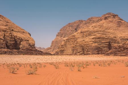 Wadi Rum desert, Valley of the Moon. Jordan, Middle East