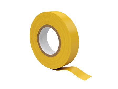 Duct tape Isolated on White Background, 3D rendering, illustration Reklamní fotografie