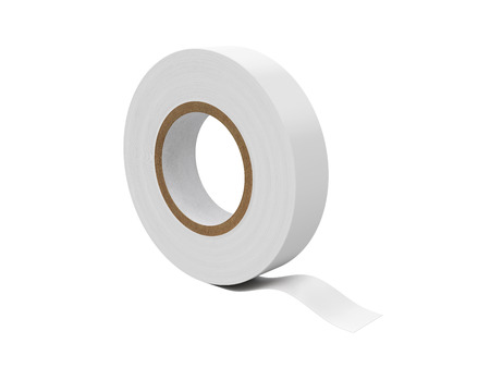 friction: Duct tape Isolated on White Background, 3D rendering, illustration Stock Photo