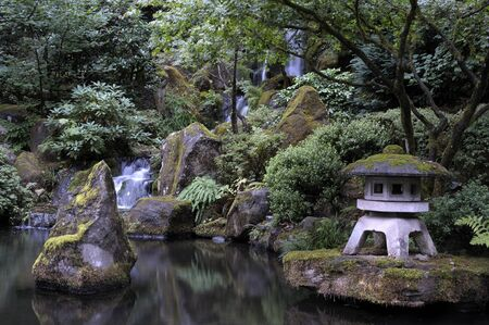 garden features: Japanese garden