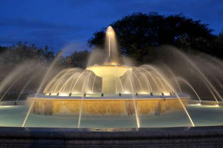 カピオラニ公園の噴水