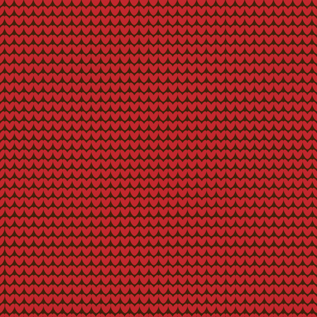 Seamless knitted red pattern. Blank without a pattern background. Vector illustration Illustration