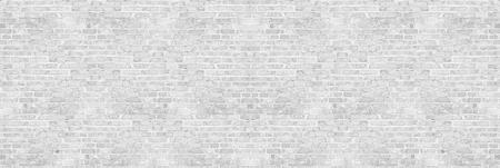 Struttura bianca del muro di mattoni del lavaggio bianco per il disegno. Sfondo panoramico