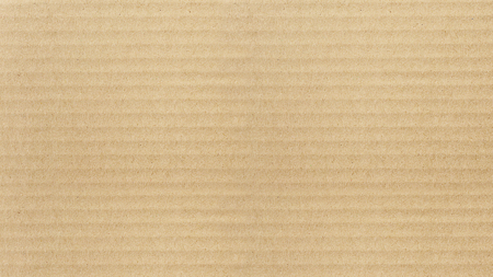 Kraft paper texture. Horizontal stripes for background