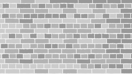 brick background with empty space, vector illustration