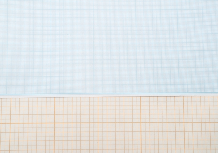 Graph grid paper photo