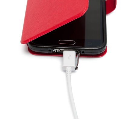 electrify: isolate white power bank for charging mobile devices