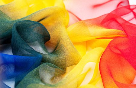 Abstract soft chiffon texture background photo