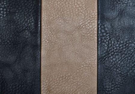 tailor seat: leather background Stock Photo
