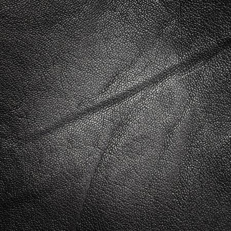 black leather texture: Luxury black leather texture background Stock Photo