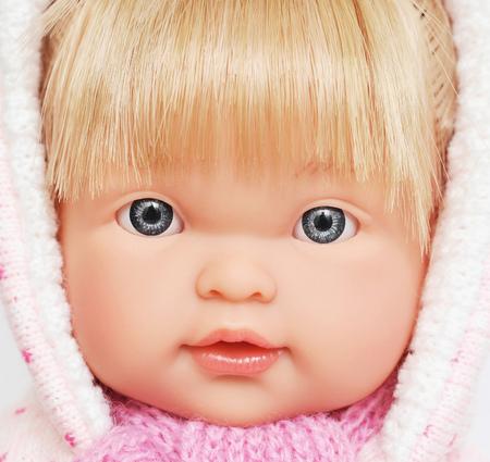 face beautiful doll