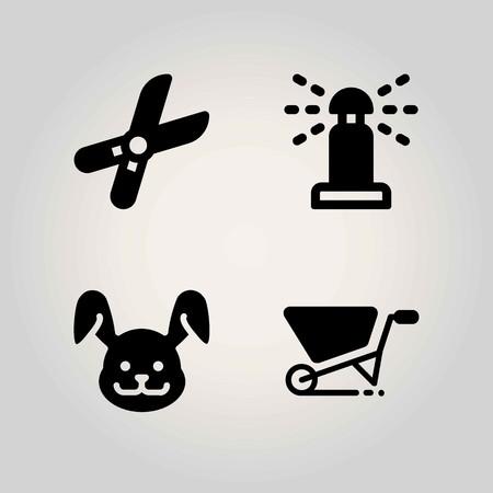 Ranch pictogrammen instellen