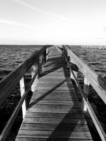 nowhere: Pier to Nowhere.
