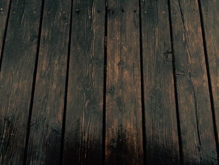 pisos de madera: Piso de madera mojada