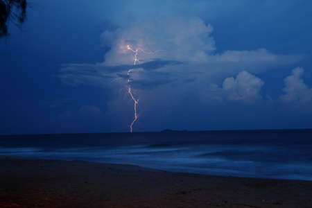 Light thunderstorm Stock Photo - 13150488