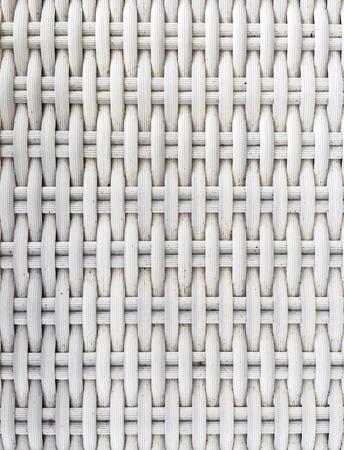 weaving: White Plastic Weaving