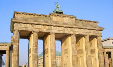 Brandenburg Gate       Stock Photo - 2403211