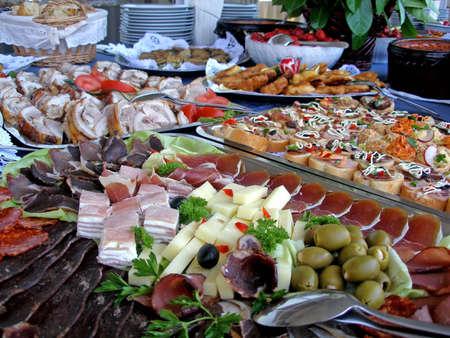 buffet: Bruiloft tabel