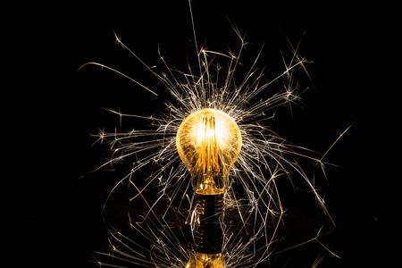 Funkelndes Licht
