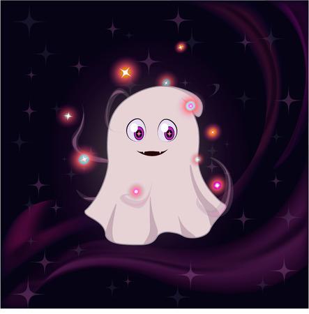 glassy: Cute magic ghost