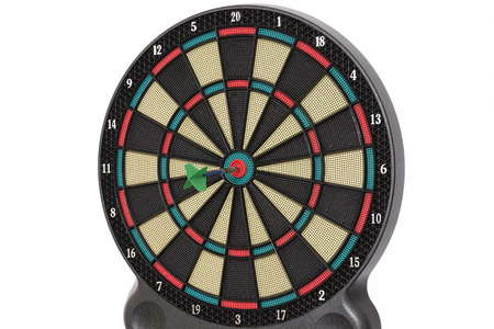 double game: Darts game, double bull eye