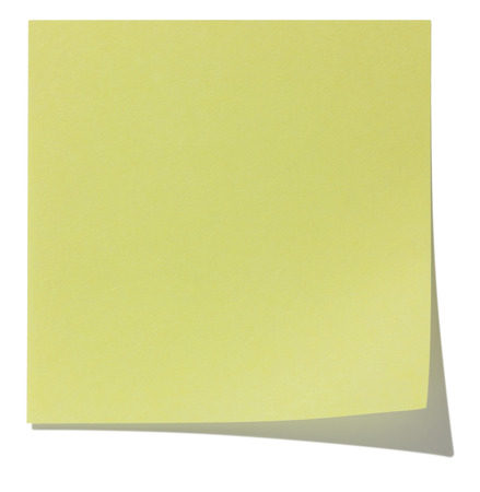 Square sticky note with shadow photo