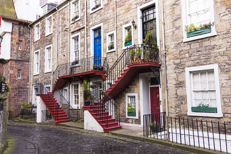 Characteristic neighborhood of edinburgh  photo