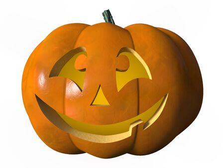 citrouille halloween: Citrouille d'Halloween rire