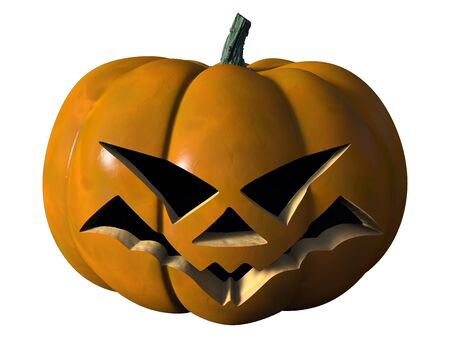 Halloween pumpkin scary Stock Photo