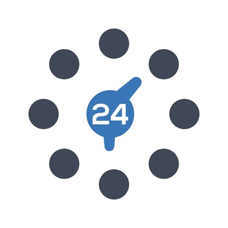 24 hours service Çizim