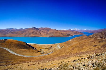 plateau: Lake at the plateau Stock Photo